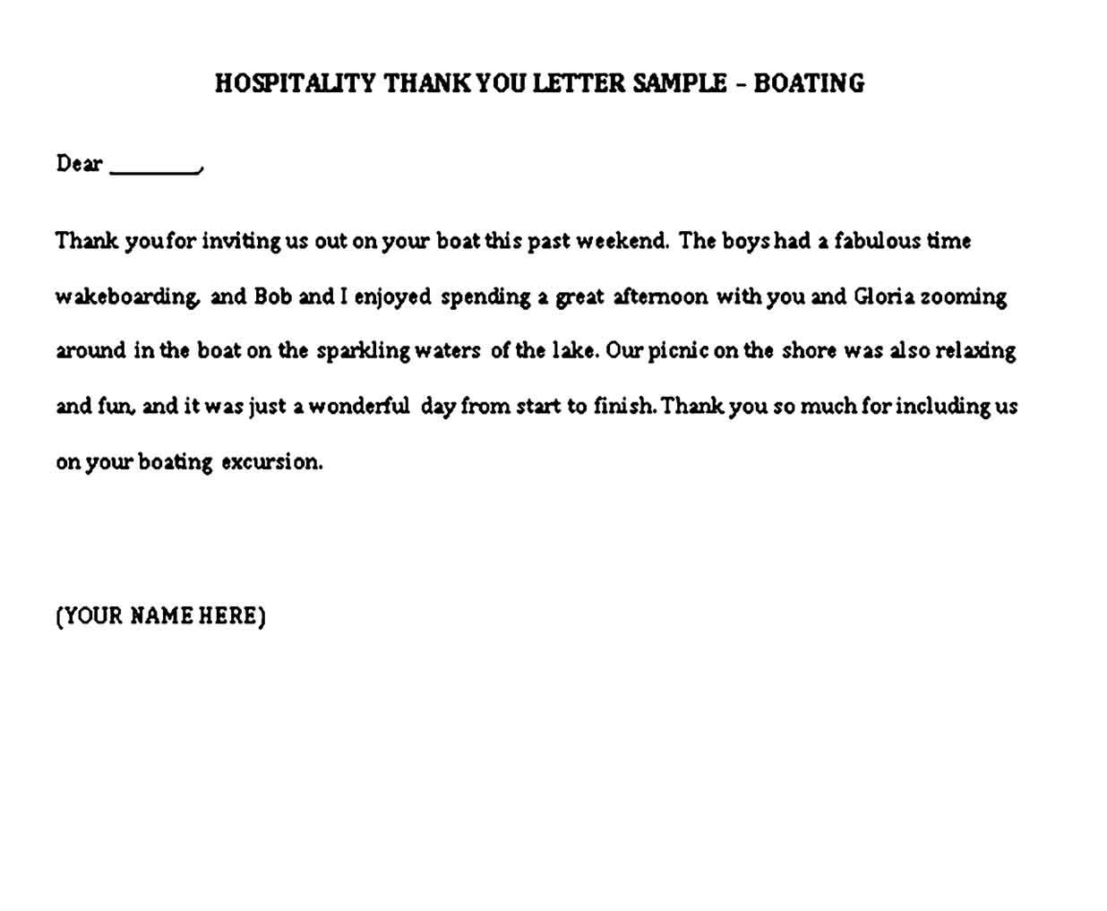 Thank You Note Sample Thank You Letter Sample Thank You Letter Template Thank You Notes