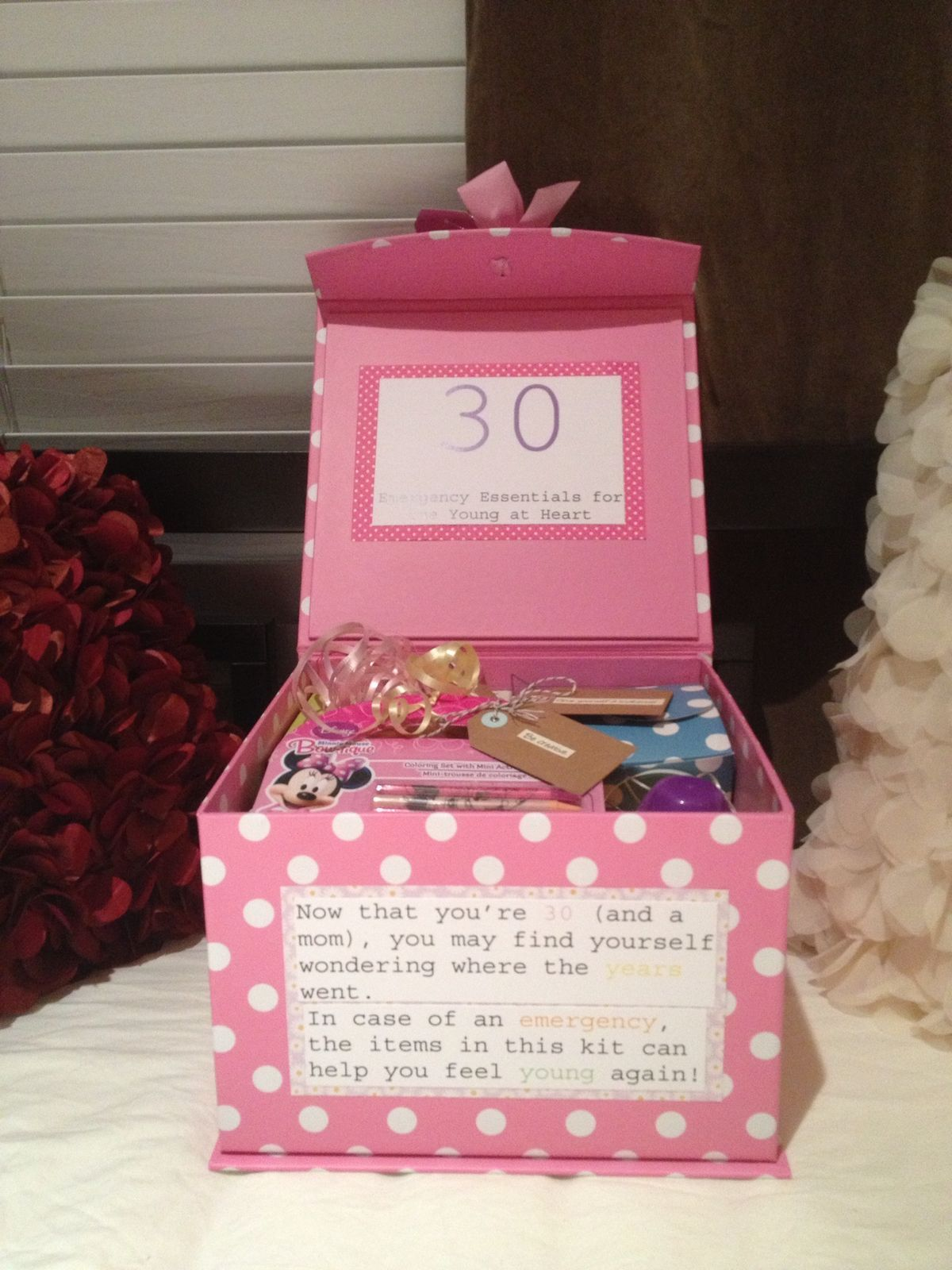 Personalised 30th Birthday Gifts 30 Gift Baskets Thirty