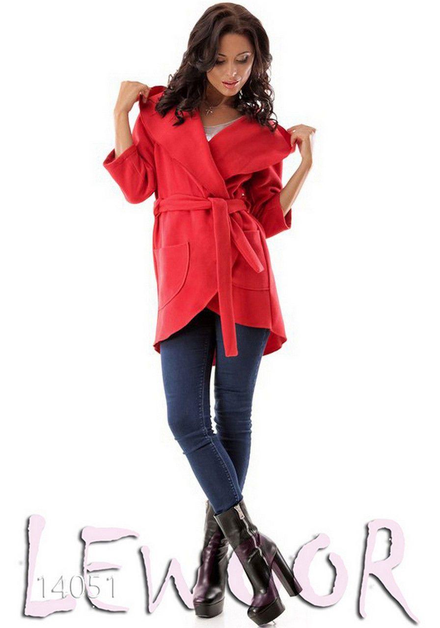 Пальто-накидка с капюшоном из кашемира - купить оптом и в розницу, интернет-магазин женской одежды lewoor.com