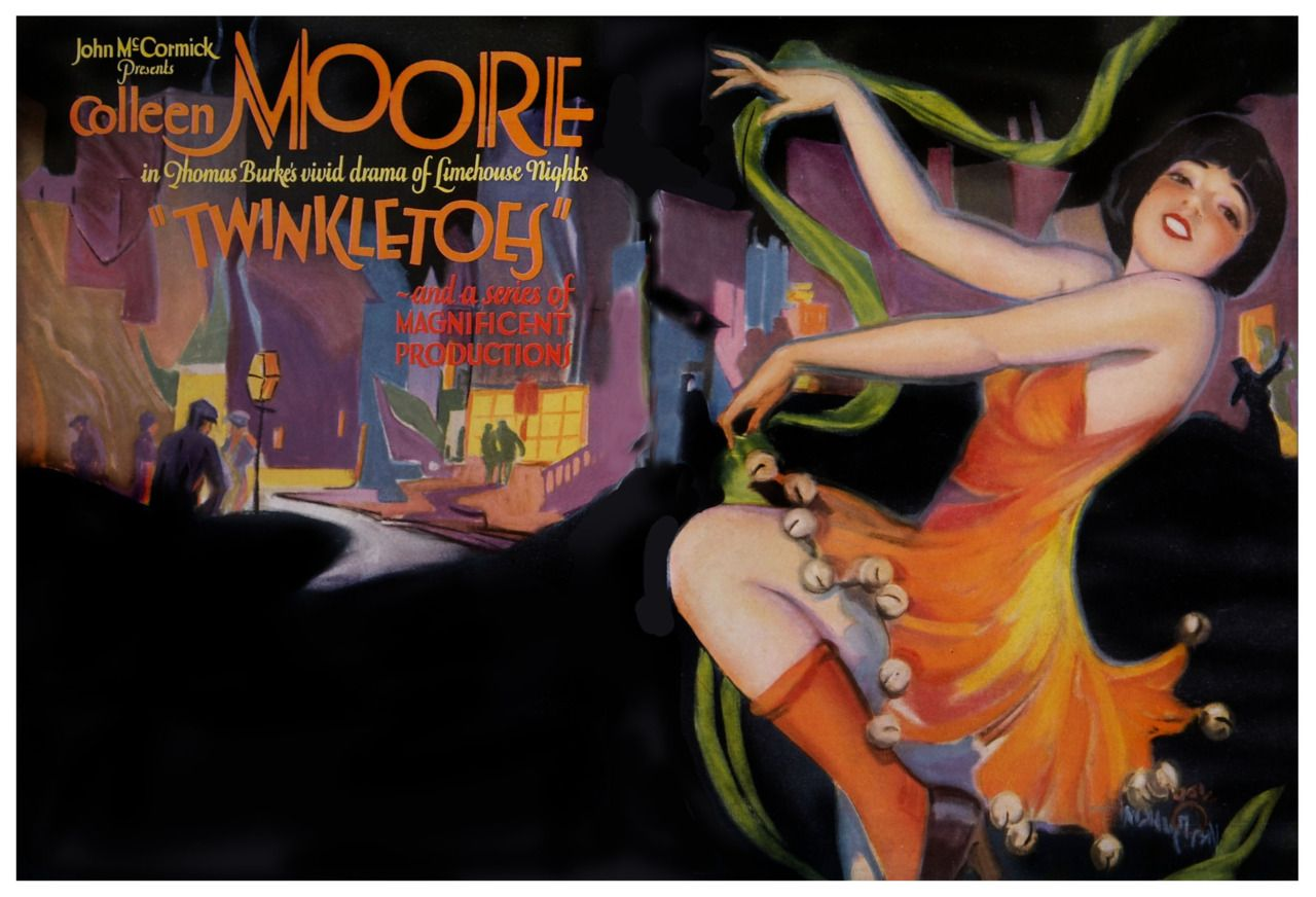 Twinkletoes (1926) featuring Colleen Moore 영화 포스터, 포스터, 영화
