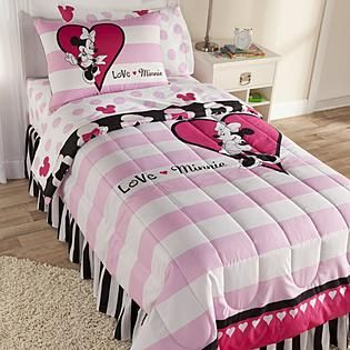 Minnie Mouse Comforter But In Full Size With Double Shams