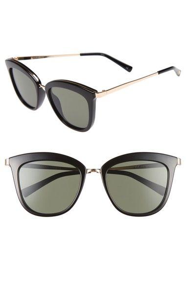 c7e2a4e02c0 LE SPECS Caliente 53mm Cat Eye Sunglasses.  lespecs