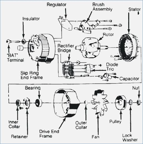 toyota alternator wiring diagram plus alternator 2006 toyota