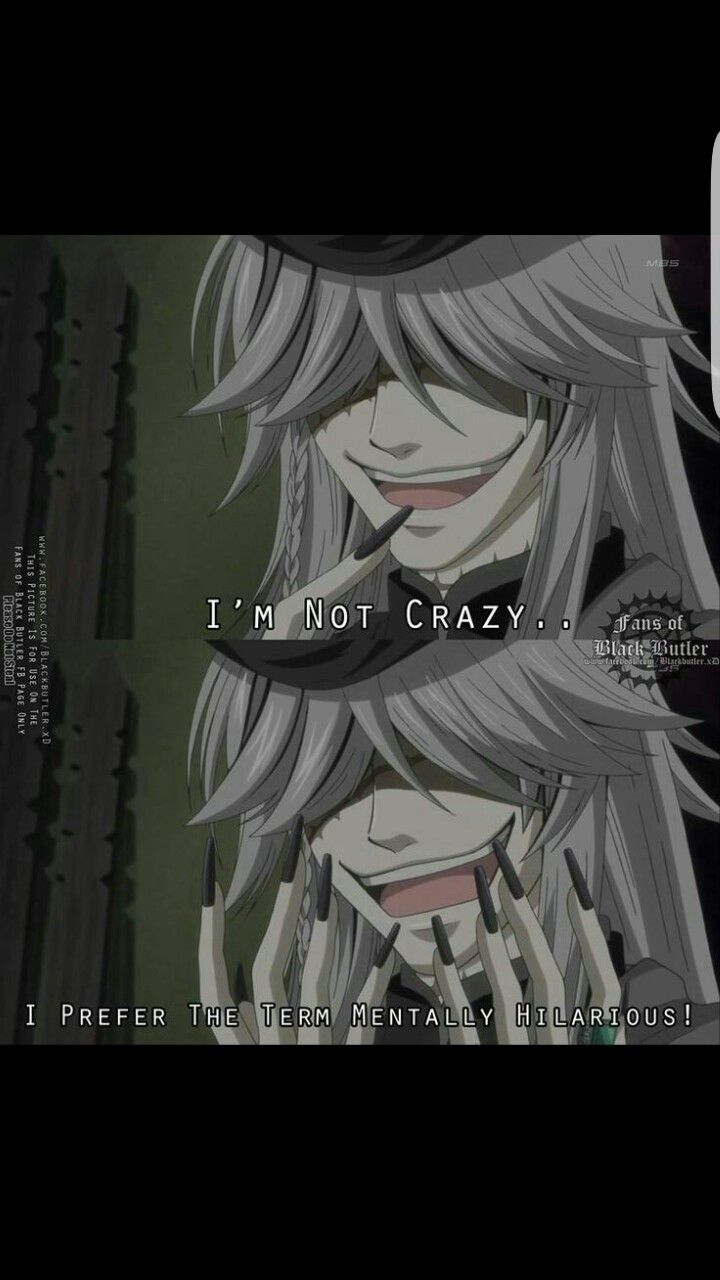 How are me and undertaker the same person? | Black butler
