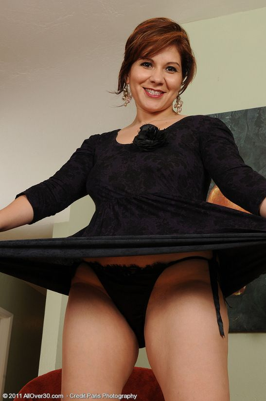 Milf on the table