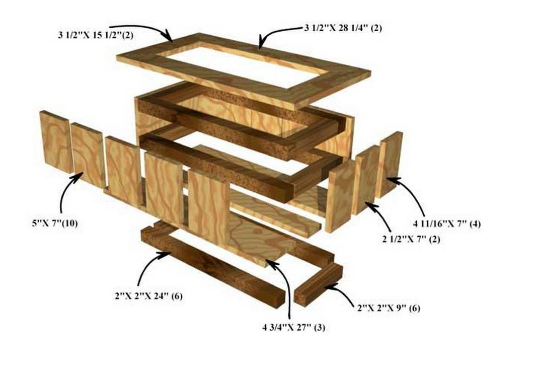 Diy Planter Box Plans How To Make Wooden Planter Boxes Waterproof