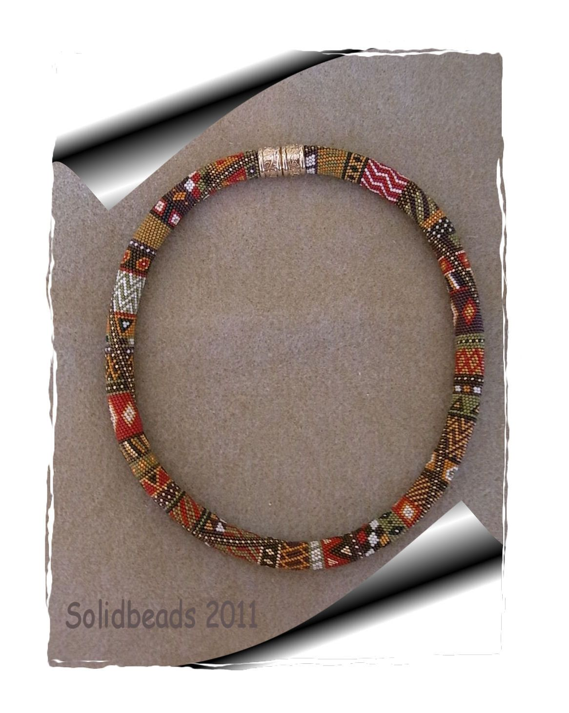 Squaw - Crochet Necklace Pattern. €10.00, via Etsy. | Crocheted ...