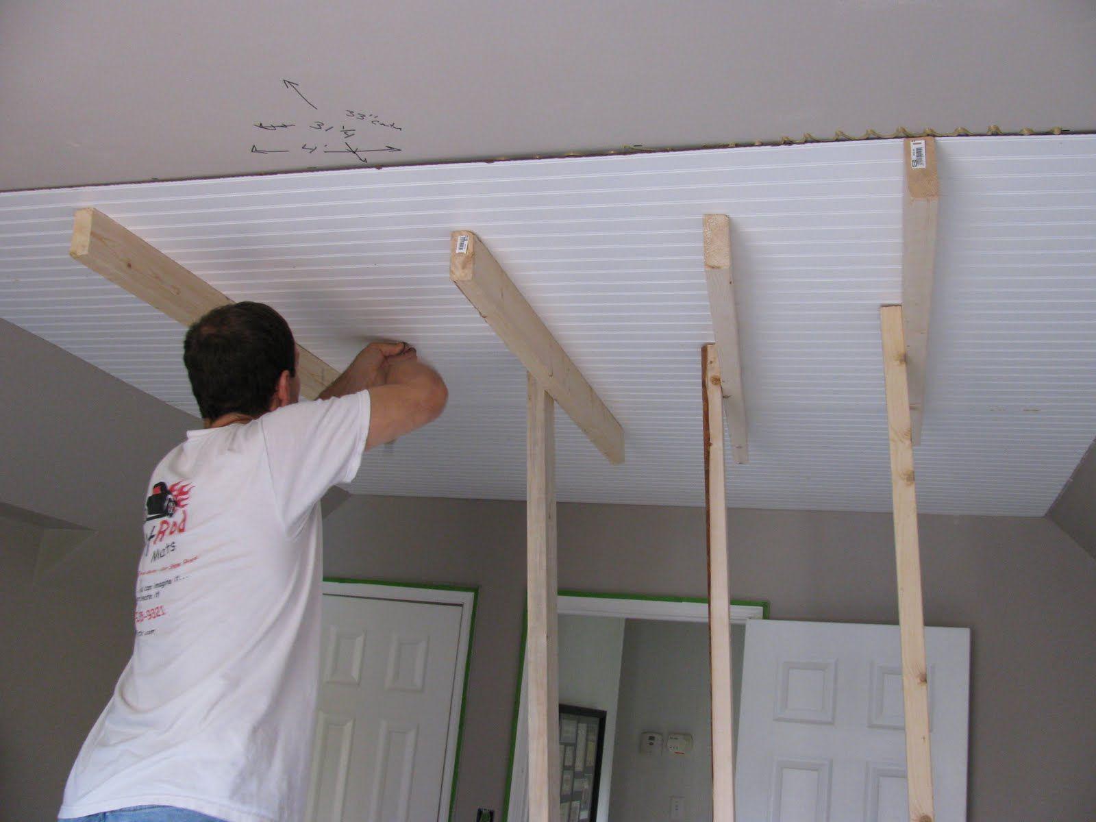Beadboard Decorating Wainscoting Kits Flat Beaded Raised Wall Paneled Wainscoting