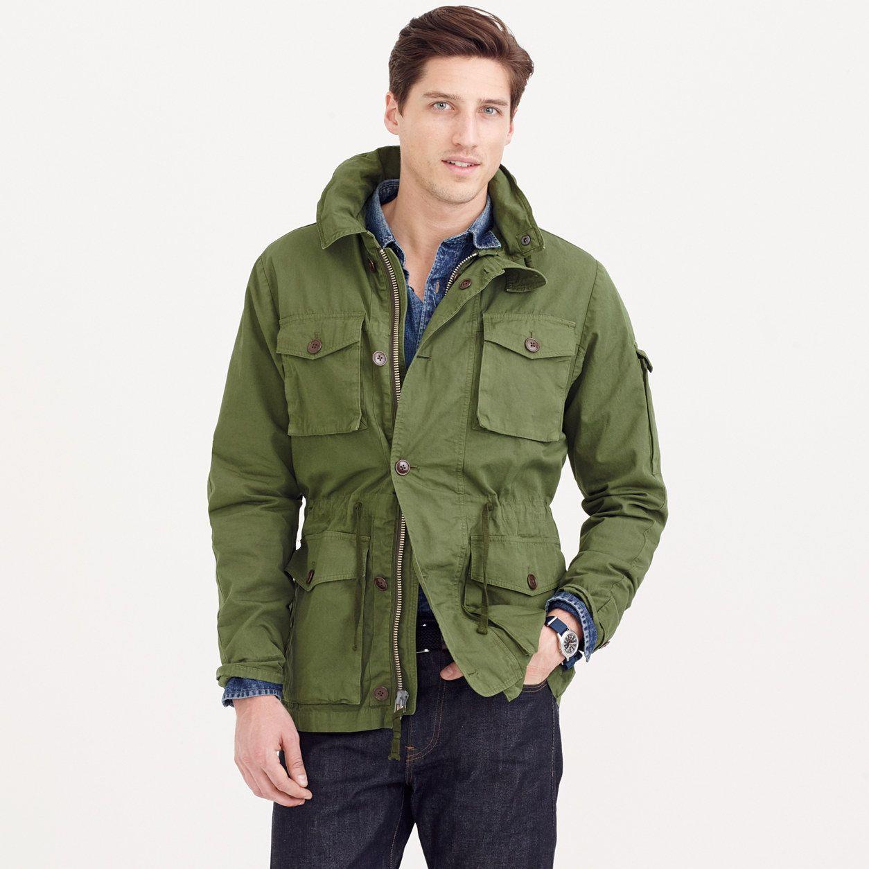 Field mechanic jacket : cotton   J.Crew