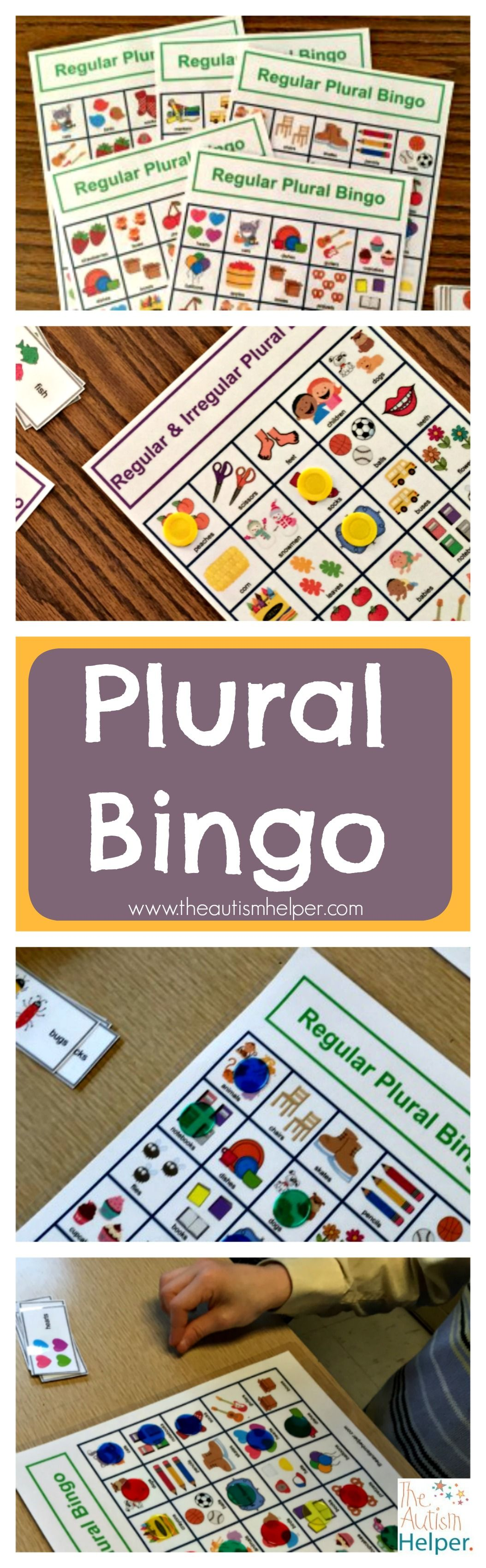 Plural Bingo