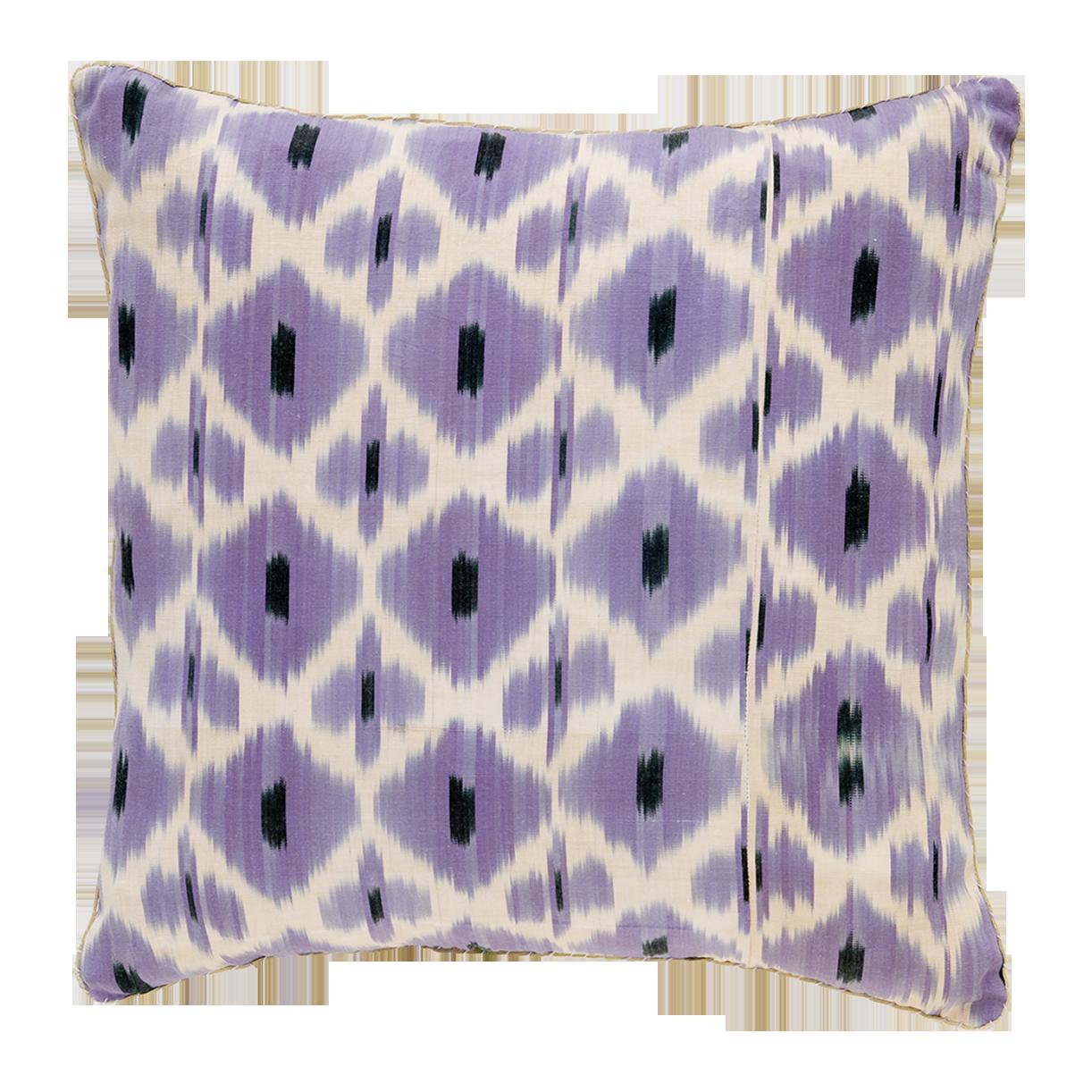 Iris Daphne Ikat Pillow