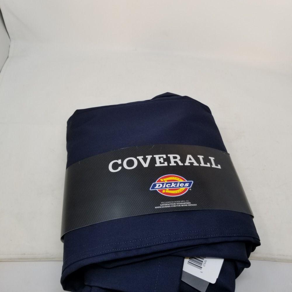 5d345b1375774 eBay #Sponsored Dickies Men's Basic Blended Coverall Large Regular Dark Navy
