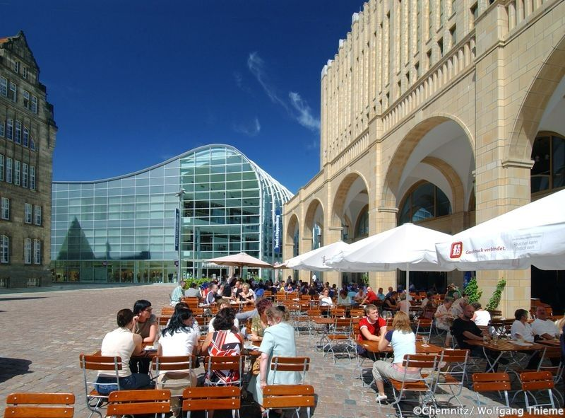 Well Known Architects Have Designed A Completely New And Modern City Centre In Chemnitz This Move Paid Off Handsomely When In 2006 T Tourismus Reisen Chemnitz