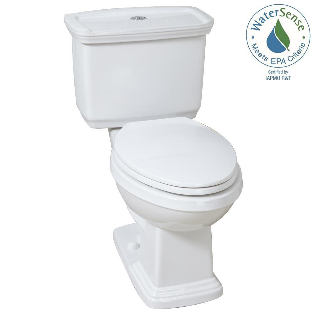 Glacier Bay 2 Piece 1 0 Gpf 1 28 Gpf High Efficiency Dual Flush