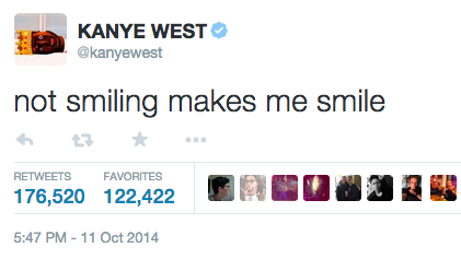 Which Kanye West Tweet Are You Kanye West Quotes Fact Quotes Tweet Quotes
