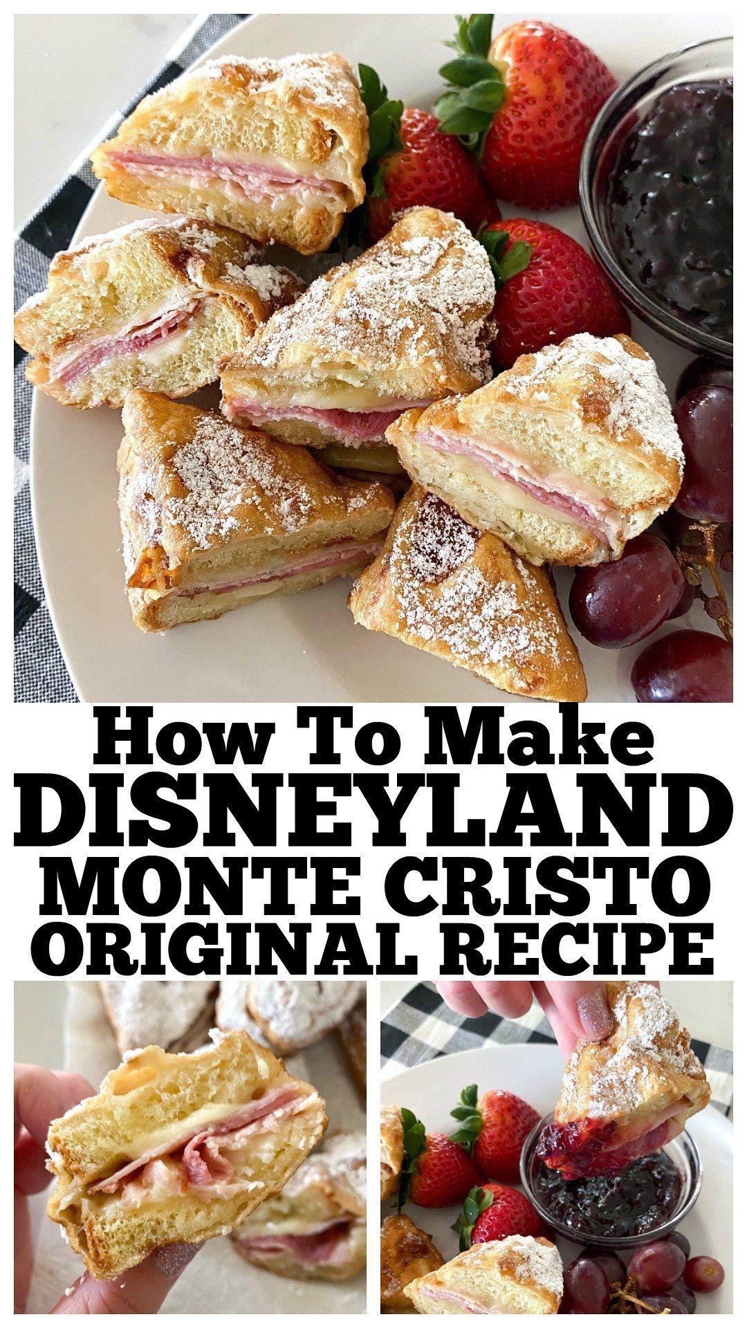Monte Cristo Original Disneyland In 2020 Monte Cristo Sandwich Recipes Monte Cristo Sandwich Recipe