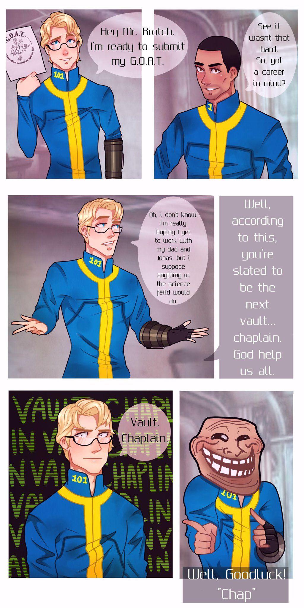 Fallout Vault Chaplain Fallout Pinterest Fallout Art