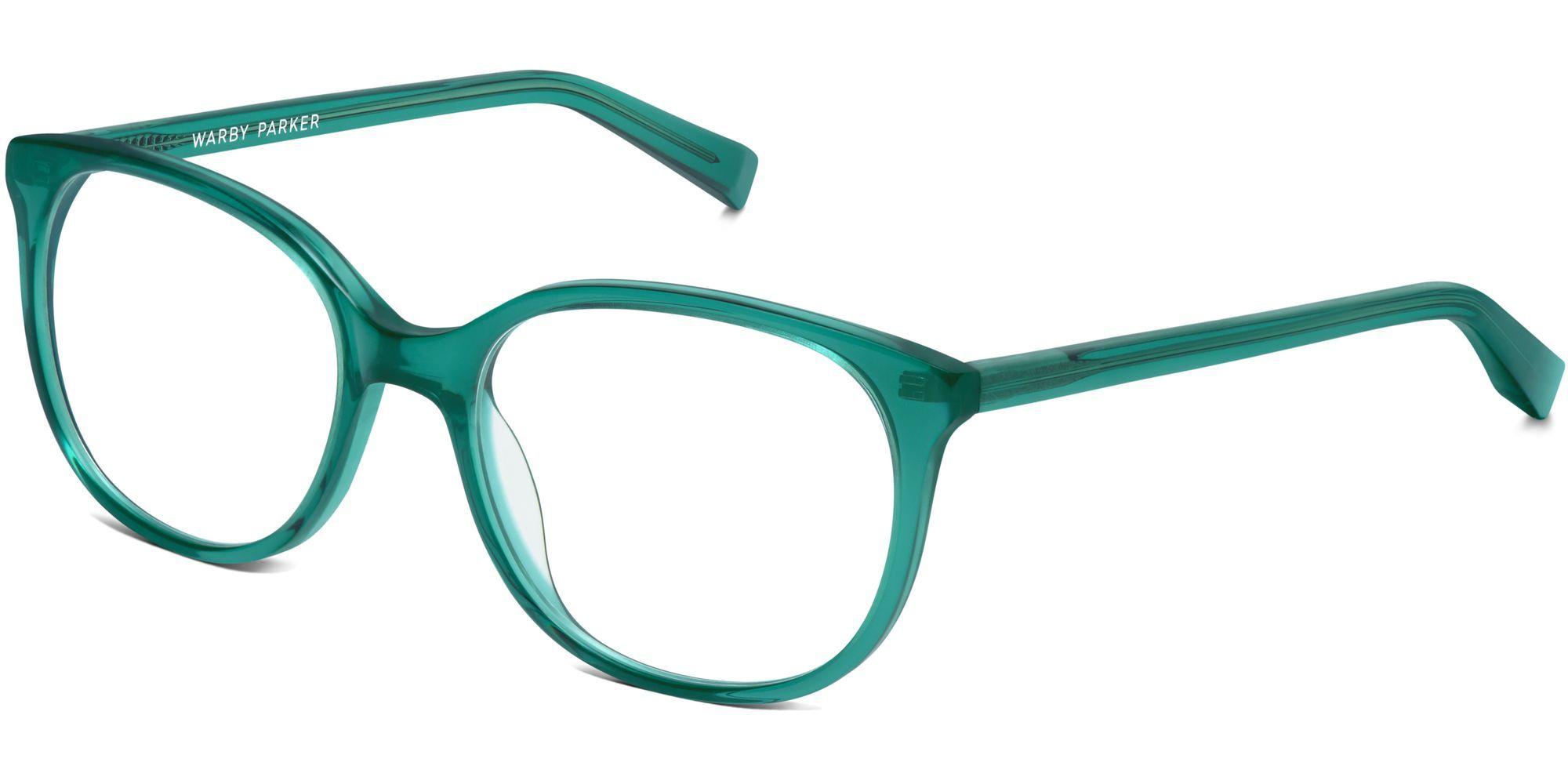 cc3b737563ad Angle of Laurel in Peacock Green // warbyparker Eye Glasses Online, Online  Eyeglasses,