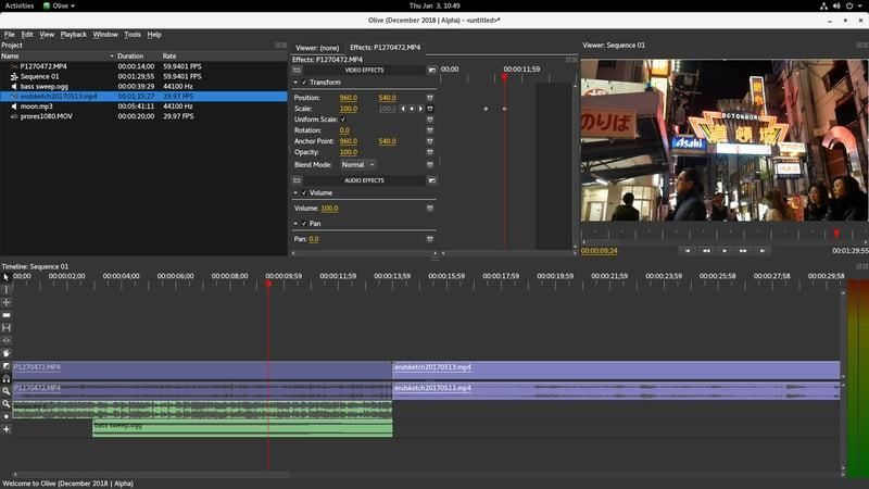 Olive Is A New Open Source Video Editor In Development Video
