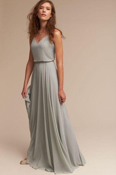 Morning Mist Inesse Dress | BHLDN