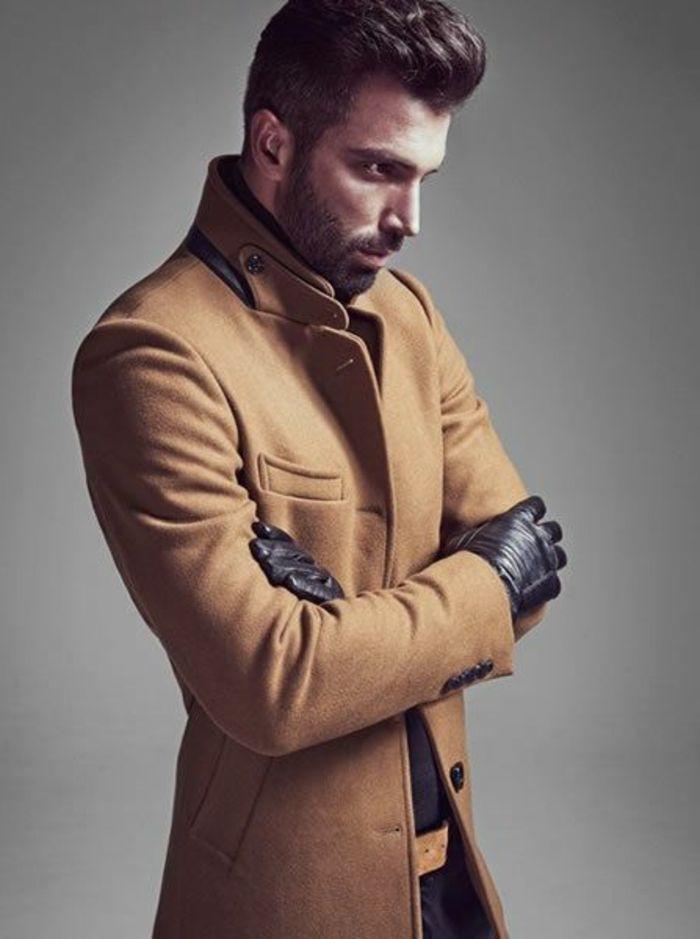 les tendances chez le manteau long homme en 48 photos style chaqueta hombre moda casual et. Black Bedroom Furniture Sets. Home Design Ideas