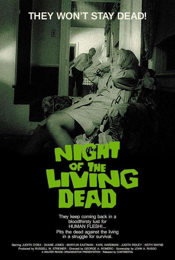 1968 Poster Poster Night Of The Living Dead Silverferox