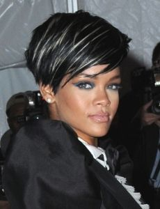 Silver Highlights On Black Hair Home Celebrity Hairstyles
