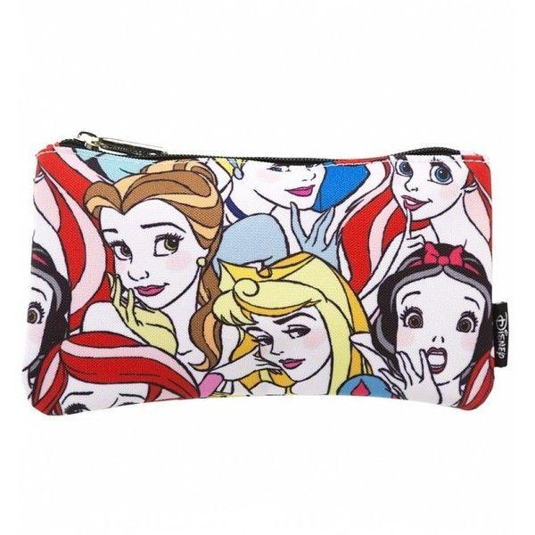 5eca8eec0656 Disney Princesses Wash Bag ($13) ❤ liked on Polyvore featuring ...