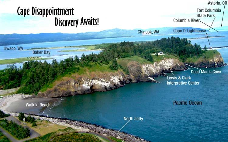Cape Disappointment State Park Vacation Rentals