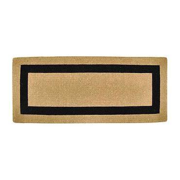 Classic Border Monogrammed Coco Door Mat Frontgate