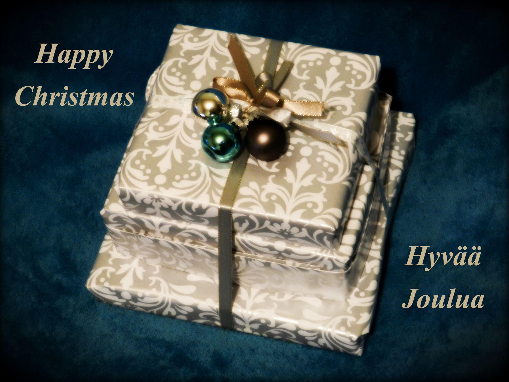 * * * Happy Christmas * * * Hyvää Joulua * * *