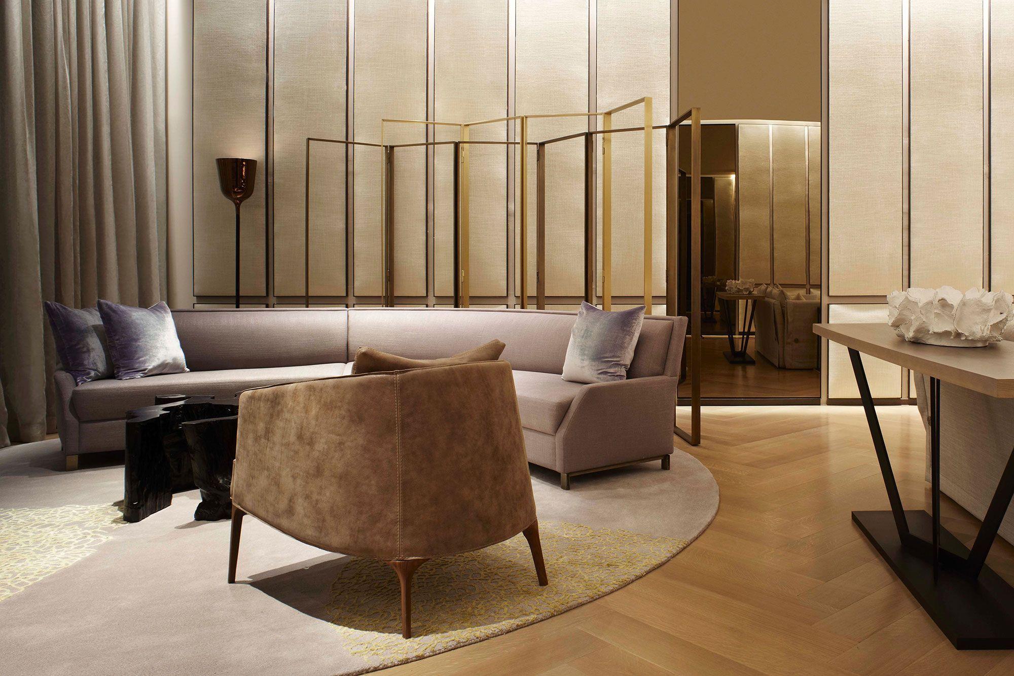 Matheny Stilnovo Golden Floor Lamp | Floor lamp, Corner lamp and ...