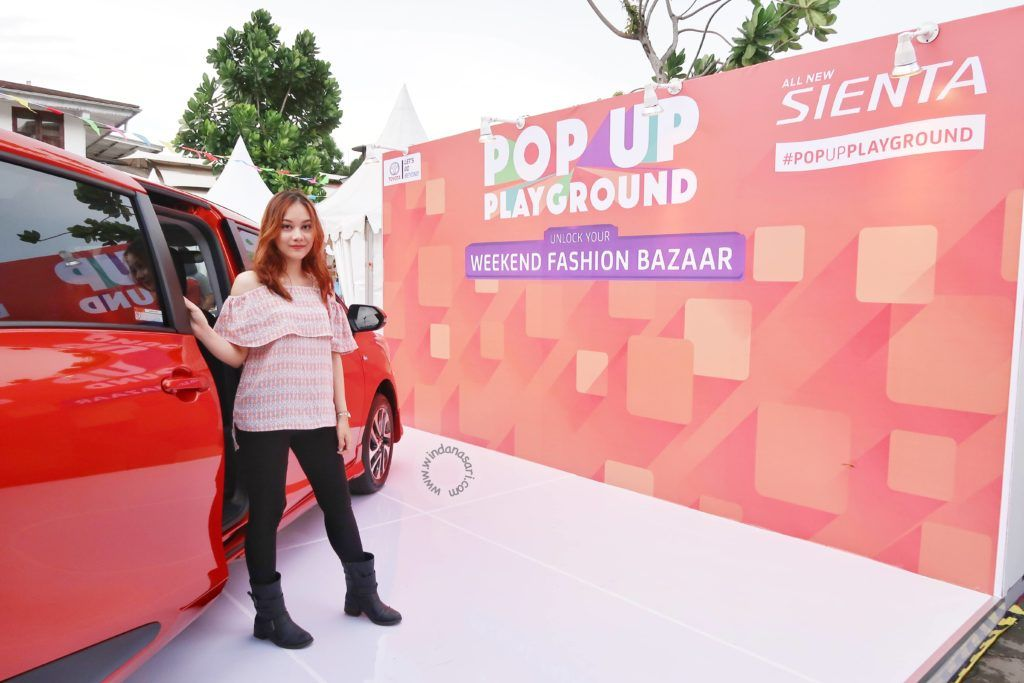 Keseruan Acara Fashion Bazaar di Sienta Pop Up Playground