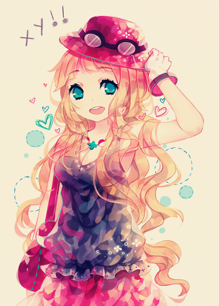 anime people are so pretty!! :)