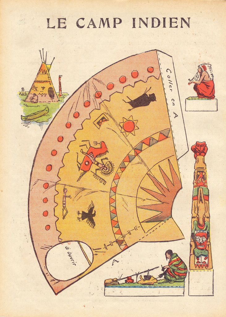 dec indien 1 Vintage paper dolls, Paper dolls, Native