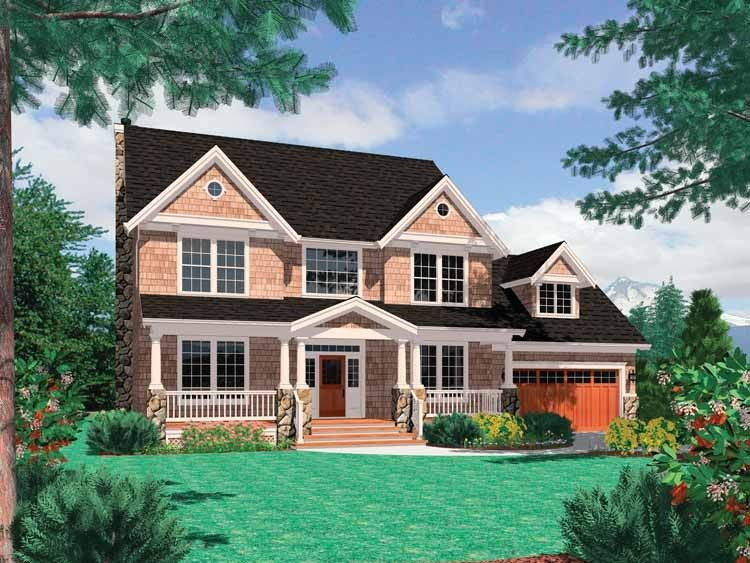 Farmhouse Style House Plan 4 Beds 2.5 Baths 2500 Sq/Ft