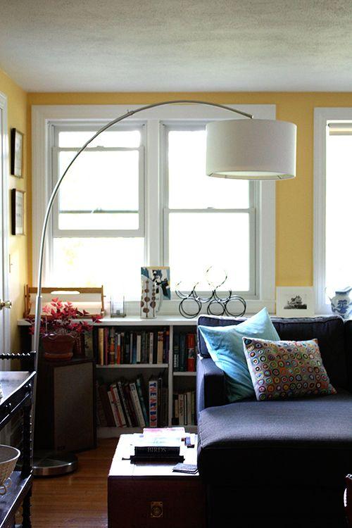 Big Dipper Silver Arc Floor Lamp Reviews Bedroom Wall