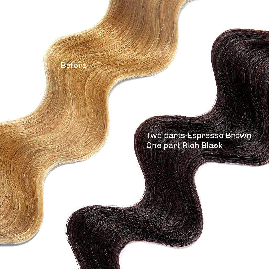 Espresso Brown Healthy Color Duo Overtone Haircare Healthy Colors Espresso Brown Pigment Coloring