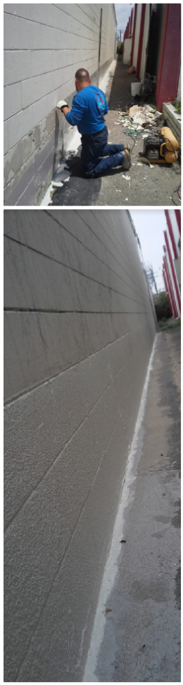 Did You Know That Concrete Floor Paint Like This Elasto Deck 5001 6001 Helps Us Waterproof Retaining Walls Too Deck Painted Concrete Floors Concrete Floors