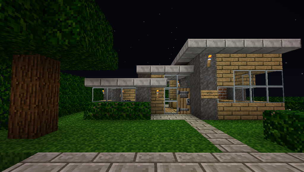 Simple Minecraft House | Minecraft | Pinterest | Simple ...