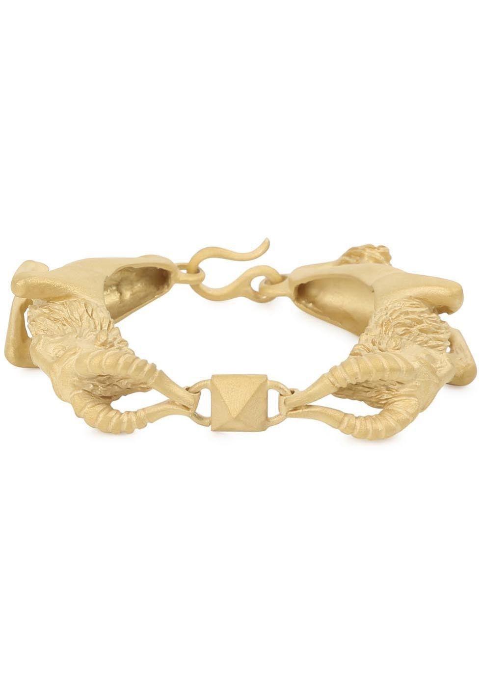 Valentino Capricorn Gold-tone Bracelet fPI6ygBYm