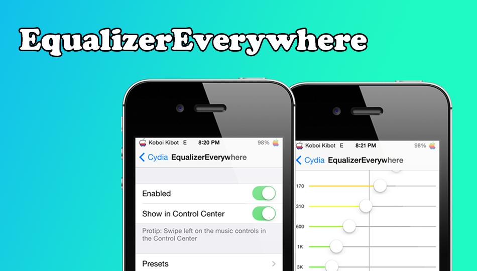 EquilizerEverywhere, un Interesante Ecualizador para iOS | Cydia