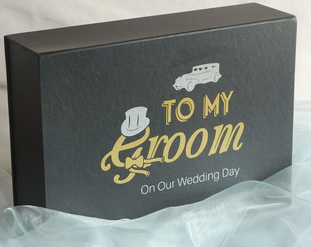 Groom Box Groomsmen Gifts Groom Wedding Gift Grooms Gift Box To My Groom On Our Wedding Day By Saphagondesigns On Etsy Wedding Gifts For Groom Groom Box Wedding Groom