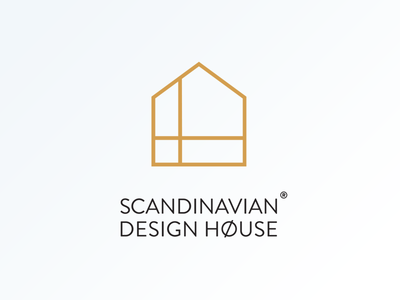 Scandinavian Design House House Logo Design Interior Designer Logo Scandinavian Design House