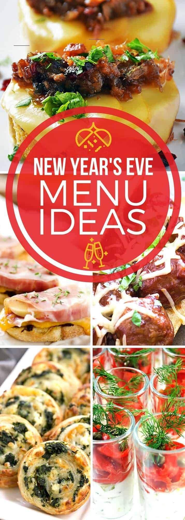 newyearsevepartyideasfood in 2020 Silvester essen