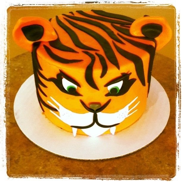 Tiger Cake Fierce Duffscakemix Cake Tiger Cake