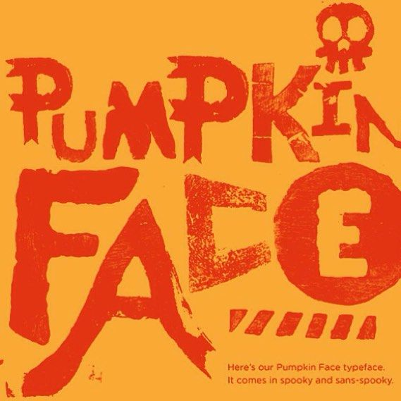 @Intrinzicbrands #Kentucky-based ad agency combined their flair for creativity with their love for Halloween to create a typeface carved from pumpkins. #halloween #pumpkinface #spooky #typography #typedesign