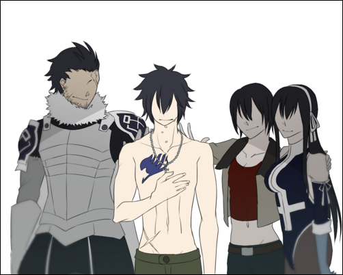 Fairy Tail - Silver, Gray, Ur and Ultear <-- Not crying *sob*