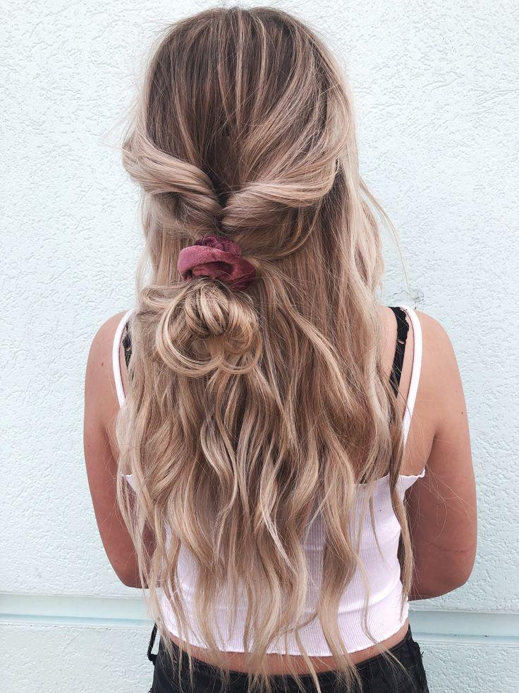 Fall hairstyle - -   13 hairstyles Bun fashion trends ideas