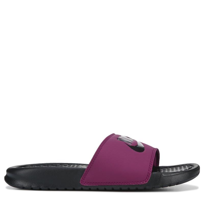 ceb34fbe40e2 Nike Women s Benassi JDI Slide Sandals (True Berry)